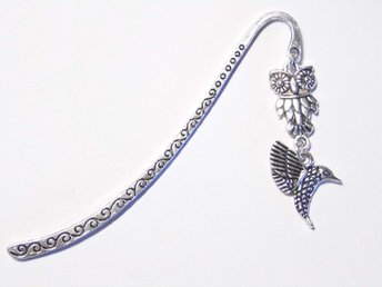 Fågel bokmärke / Bird bookmark