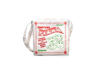 Messenger Bag - TV - Turtles - Pizza