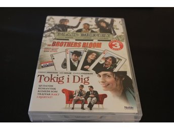 DVD-box: Mad Money / The Brothers Bloom / Tokig i dig