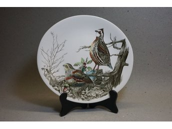 Samlartallrik - Game Birds - Quail Johnson Brothers