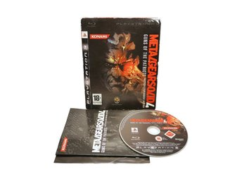 Metal Gear Solid 4 Guns of the Patriots (Första utgåvan m sleeve / PS3)