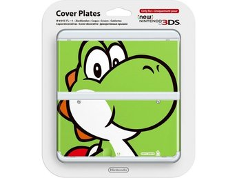 Cover plates New 3DS Yoshi (Oficiell Nintendo)