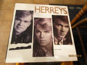 HERREYS - NOT FUNNY - LP