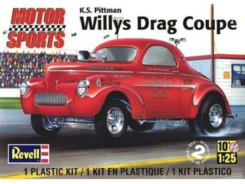 Revell Monogram 1/25 Willy's Dragster Coupe
