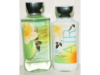 Bath & Body Works PEAR BLOSSOM AIR Body Lotion 236ml & Shower Gel 295ml doft - Torsås - Bath & Body Works PEAR BLOSSOM AIR Body Lotion 236ml & Shower Gel 295ml doft - Torsås