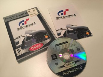 Playstation 2 PS2 Gran Torismo 4 CIB
