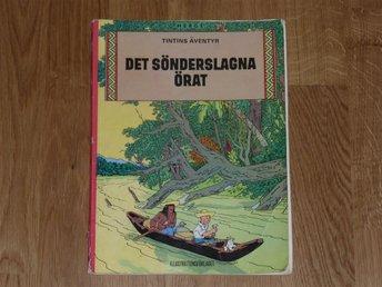 Tintin - Det Sönderslagna Örat - 1a upplagan - Täby - Tintin - Det Sönderslagna Örat - 1'a upplagan - Täby