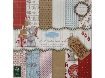 Scrapbooking papper 20 x 20 - Me to You - Christmas - 12 ark