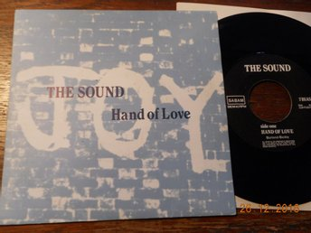 "THE SOUND - Hand of love, 7"" singel Play It Again Sam, Belgien 1987"