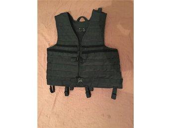 SWAT Tactical Molle Vest Black - Västerås - SWAT Tactical Molle Vest Black - Västerås