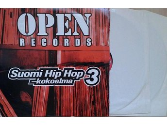 Various ‎Artists titel*  Open Records Suomi Hip Hop -Kokoelma 3* 2 xLP Finland