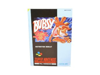 Bubsy in Claws Encounters of the Furred Kind (Manual SNES SCN)