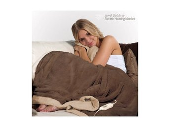 Elektrisk fleecefilt 160 x 120 cm Electric Heating Blanket
