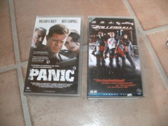 2 VHS-Panic/Rollerball
