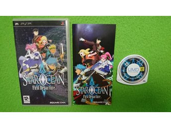 Star Ocean First Departure Psp Playstation Portable