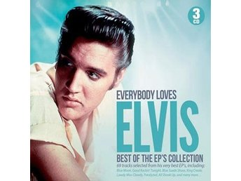 Presley Elvis: Best of the EP's collection (50s) (3 CD)
