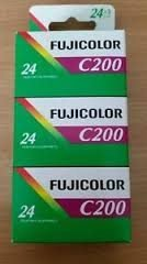 24p 200ASA 3-PACK, Fujifilm Superia, analog film, 135 film, C-41