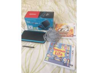 New Nintendo 2ds XL inkl. 2 spel