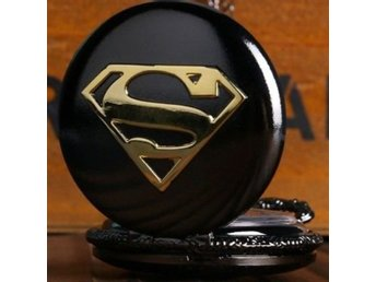 Cool Superman Black Case With Blue Di...