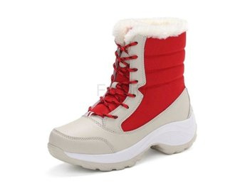Dam Boots Women Korean Daily Footwear Size 35-41 Red 36