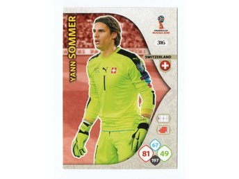 2018 Panini Adrenalyn XL FIFA World Cup Russia Yann Sommer
