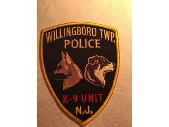 Willingboro Teo police k9 unit