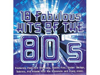 18 fobulous hits of the 80´s