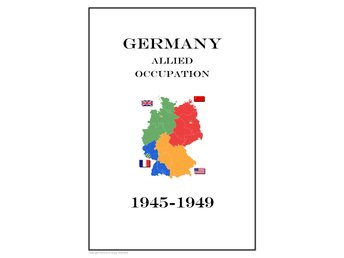 Germany Allied Occupation 1945-1949 PDF STAMP ALBUM INGA FRIMÄRKEN!!