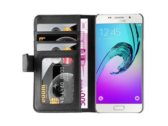 Basic Wallet Black Samsung Galaxy A5 2016