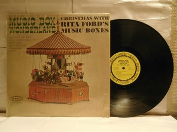 RITA FORD MUSIC BOXES - CHRISTMAS WITH