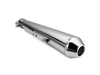 Motorcycle Cafe Racer Exhaust Muffler Pipe with Sliding B...