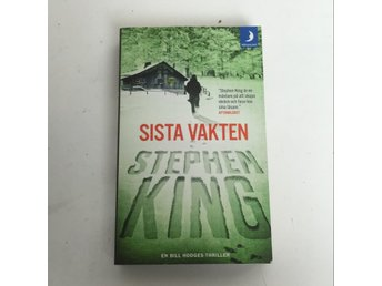 Bok, Sista vakten, Stephen King, Pocket, ISBN: 9789175036113, 2017