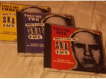 Volume One - Don't call me ska face - 3 cd samling