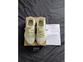 ADIDAS ORIGINALS YEEZY BOOST 350 V2 BUTTER US10 UK9.5 EU44