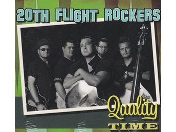 CD 20th Flight Rockers - Quality Time