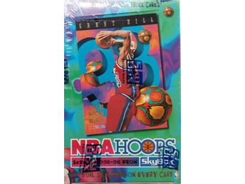 1995/1996 SkyBox NBA HOOPS Basketball Box