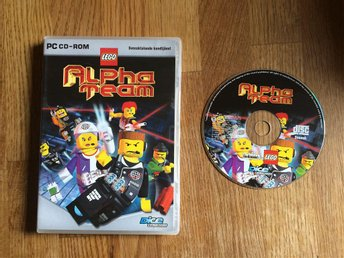 LEGO ALPHA TEAM PC CD-ROM