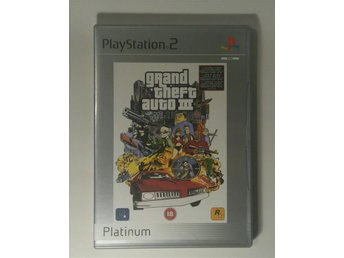 GTA III PS2 Grand Theft Auto 3 Playstation 2 Rockstar - Solna - GTA III PS2 Grand Theft Auto 3 Playstation 2 Rockstar - Solna