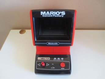 Game & Watch - Table Top - Marios Cement Factory