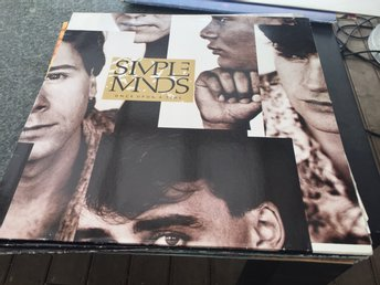 SIMPLE MINDS ONCE UPON A TIME 1985 SKICK MVG+