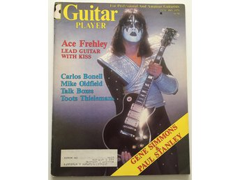 KISS Guitar Player Magazine (Ace Frehley) 1979