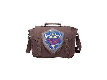 Messenger Bag - Nintendo - Zelda - Brown Link Shield