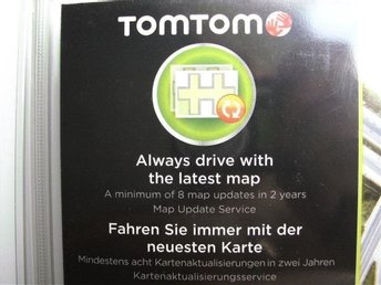 TomTom Map Update Service Card - 24 Months
