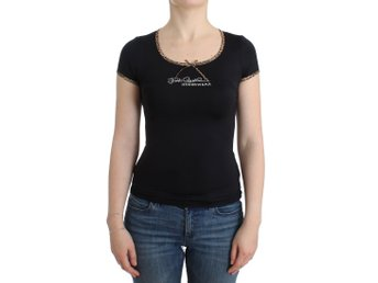 Cavalli - Black Nylon Top T-Shirt