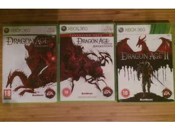 Dragon Age Origins + Awakening + Dragon Age 2 XBOX 360