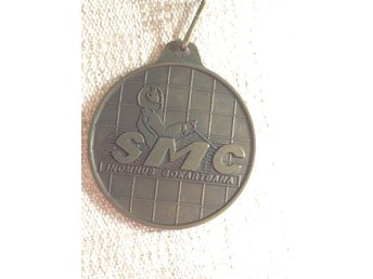 SMC Scandinavian Motorsport Center gokart medalj