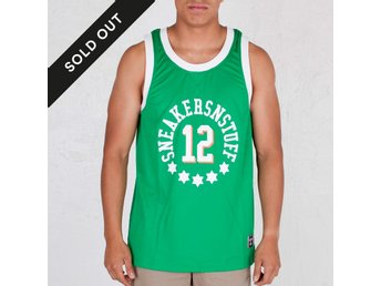 Sneakersnstuff K1X  NOH Jersey tank top all-star, grönt, strl. S!
