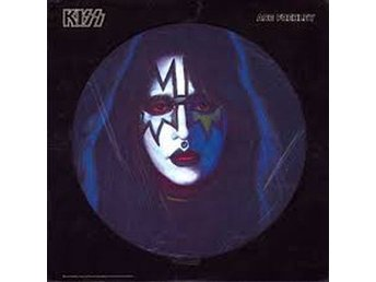 Kiss -Ace Frehley 1978 solo album pic disc with die-cut cove