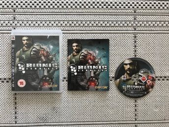 Bionic Commando till Playstation 3, PS3, komplett