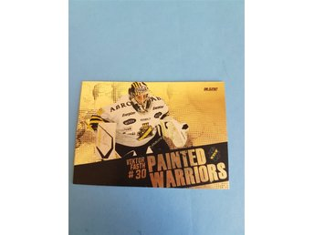 2010-11 SHL Elite Painted Warriors Gold 1:250 Viktor Fasth